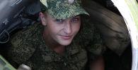 Механик-водитель танка Мария в Донбассе. Архивное фото