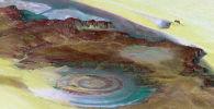 Геологическое образование — структура Ришат в Сахаре. Архивное фото