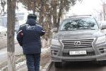 В Бишкеке начались рейды по выявлению авто с незаконной тонировкой. Архивное фото