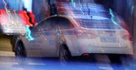 Автомобиль дорожно-патрульной службы РФ. Архивное фото
