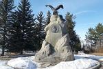 Памятник Николаю Михайловичу Пржевальскому в городе Каракол