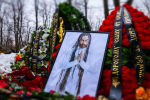 Могила рэпера Децла (Кирилла Толмацкого) на Пятницком кладбище города Москвы.