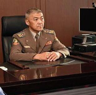 Личному составу внутренних войск МВД КР представлен новый командующий — полковник Исламбек Кенжекулов