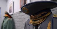 Фуражка военного Кыргызстана. Архивное фото