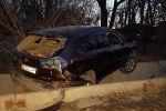 Автомобиль на который было совершено разбойное нападение с применением огнестрельного оружия в селе Беш-Кунгей