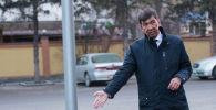 Бишкек мэри Азиз Суракматов. Архивдик сүрөт