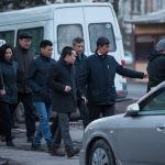 Прогулялся с сотрудниками муниципалитета и шеф-редактор Sputnik Кыргызстан Эркин Алымбеков