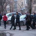 Мэр Бишкека Азиз Суракматов очередной раз прогулялся с вице-мэрами, акимом района и главами муниципальных служб