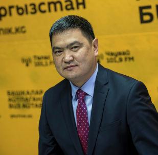 Ысык-Көл райондук администрациясынын башчысы Данир Иманалиев