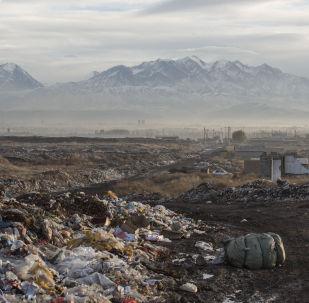 Бишкек шаарындагы таштанды полигону. Архив