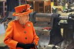 Королева Великобритании Елизавета II посещает Музей науки в Лондоне. 7 марта 2019 года