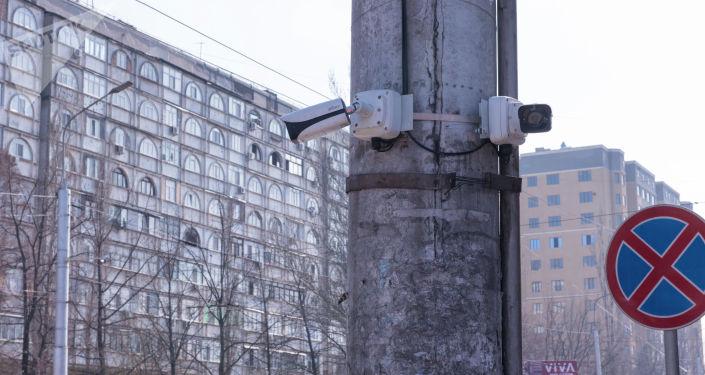 Коопсуз шаар долбоорунун алкагында орнотулган камера