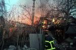 Крупный пожар на севере Бишкека