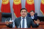 Жогорку Кеңеш тарабынан түзүлгөн атайын комиссиянын төрагасы Каныбек Иманалиев. Архивдик сүрөт