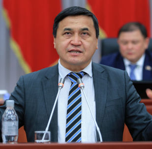 Депутат Жогорку Кенеша от фракции Ата-Мекен Каныбек Иманалиев. Архивное фото