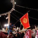 Camel Fest иш-чарасына өлкө атынан 2000 киши барган. Ага маданият жана спорт өкүлдөрүнөн тышкары техникалык топ, уюштуруучулар жана ыктыярчылар кирет.