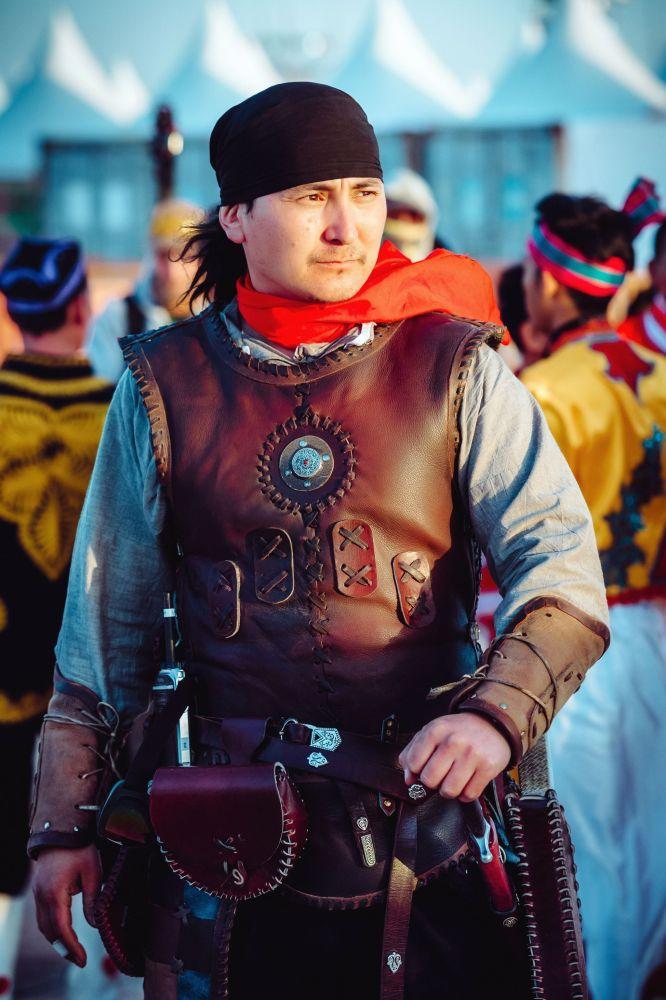 Кыргызстанский каскадер Фархат Косимов