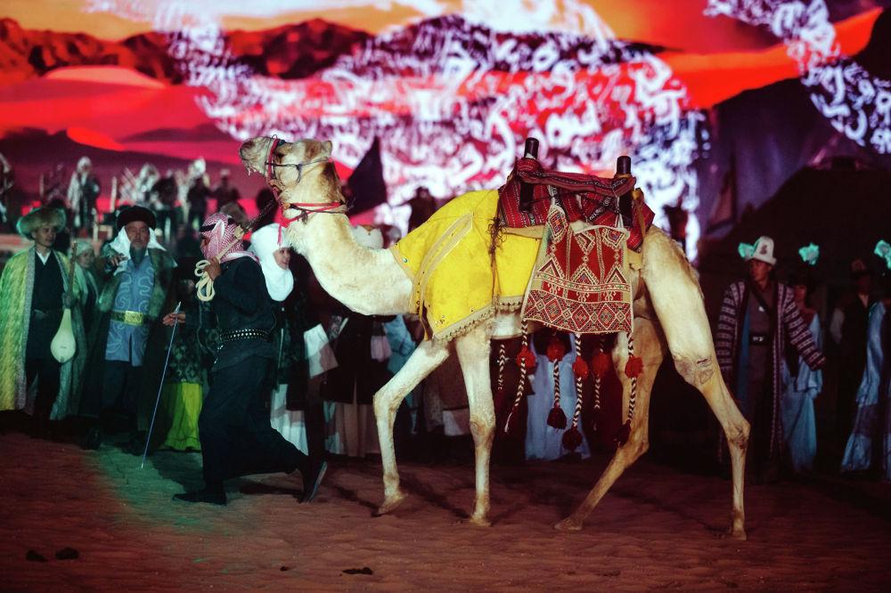 В программе фестиваля также значатся гонка на верблюдах и показ изделий из верблюжьей шерсти