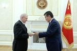 Президент Сооронбай Жээнбеков Россиянын, Кытайдын, Италиянын, Чехиянын жана Бениндин элчилеринен Ишеним грамоталарын кабыл алды