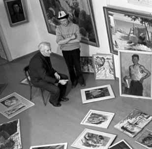 Белгилүү сүрөтчү Теодор Герцен. Архив