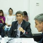 Заведующий отделением гигиены труда Центра госсанэпиднадзора Бишкека Алтай Толонбаев
