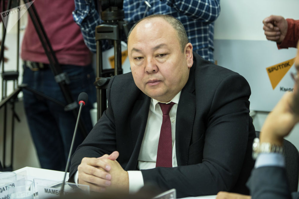 Заместитель директора Государственного агентства антимонопольного регулирования Алишер Мамбеткулов