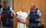 Обвиняемый в теракте в мечетях Новой Зеландии Брентон Таррант в окружном суде Крайстчерча, Новая Зеландия, 16 марта 2019 года