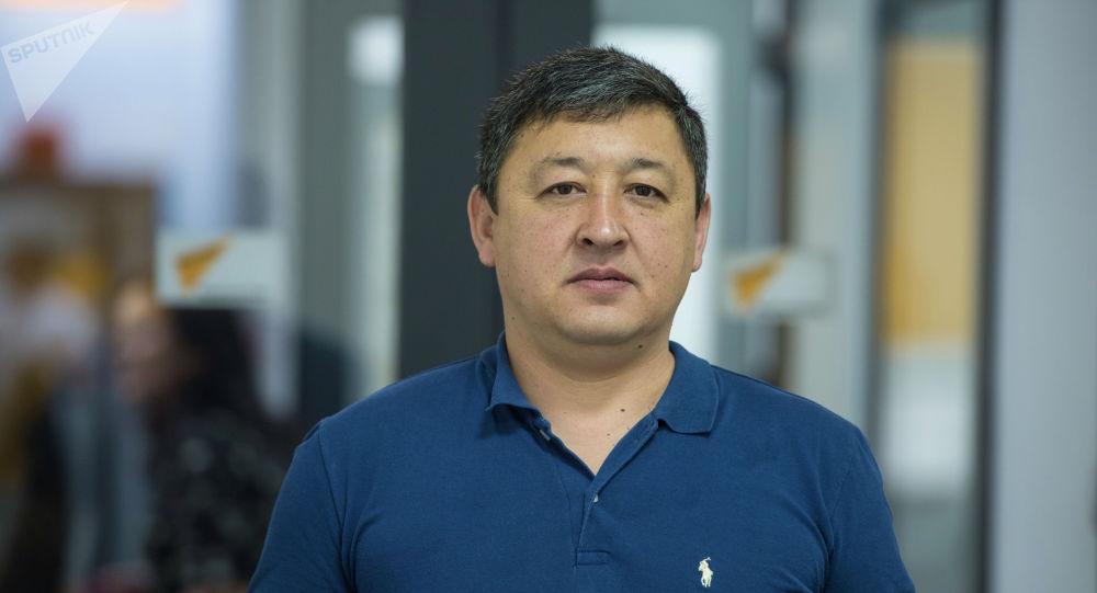 Кыргызстандагы айдоочулардын көз карандысыз кесиптик кошуунунун төрагасы Дастан Мирякубов