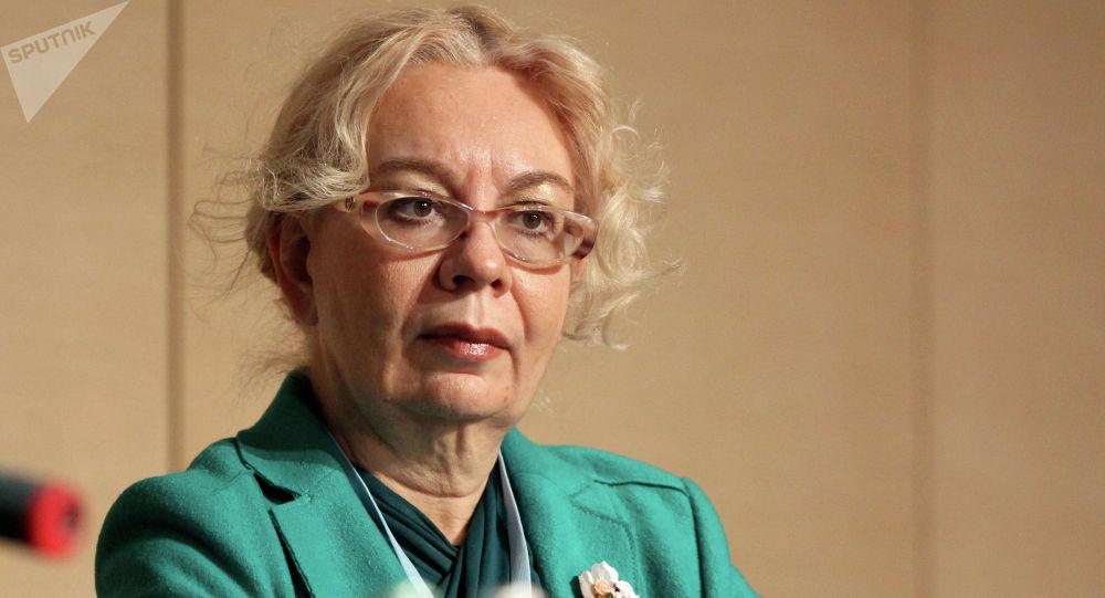 Член Коллегии (министр) по интеграции и макроэкономике ЕЭК Татьяна Валовая. Архивное фото