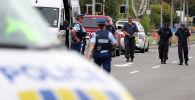 Полиция обыскивает район возле мечети Линвуд-Авеню в Крайстчерче