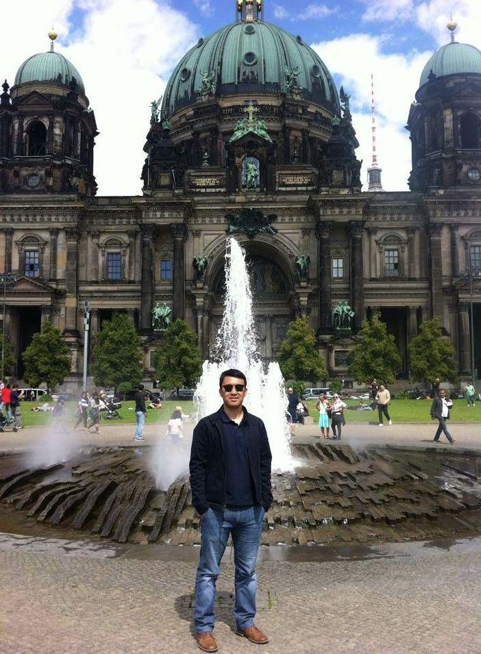 Предприниматель Алмаз Арапов в Европе