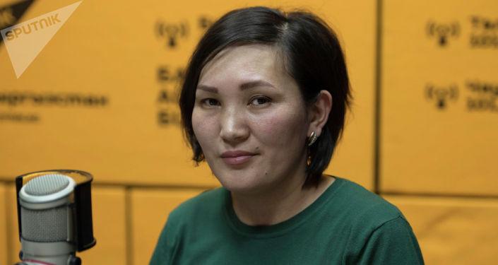 Бишкек мэриясынын Шаардык чарба департаментинин көрктөндүрүү бөлүмүнүн башкы адиси Нургүл Мамытова