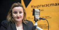 Руководитель программы школьного питания Всемирной продовольственной программы ООН в Кыргызстане Эмма Хачатурян
