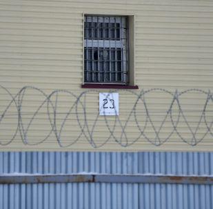 Забор на территории исправительной колонии. Архивное фото