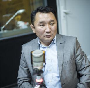 Назначенный генеральным директором НТС Миржан Балыбаев. Архивное фото