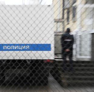 Полицейский автозак. Архивное фото
