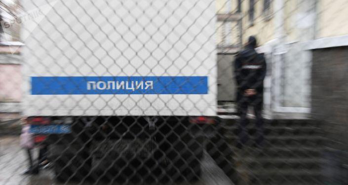 Полицейский автозак России. Архивное фото