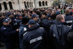 Сотрудники полиции в Софии. Архивное фото