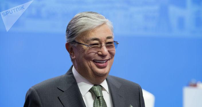Председатель Сената Парламента Казахстана Касым-Жомарт Токаев. Архивное фото