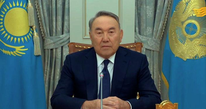 Президент Казахстана Нурсултан Назарбаев выступил с обращением к народу и объявил о своей отставке.