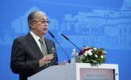 Архивное фото председателя Сената Парламента Казахстана Касым-Жомарт Токаева
