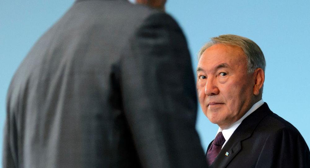 Архивное фото президента Казахстана Нурсултана Назарбаева