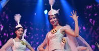 Обладательницей гран-при конкурса красоты Казак аруы (Казахская красавица) стала участница из Павлодара Сания Темерханова
