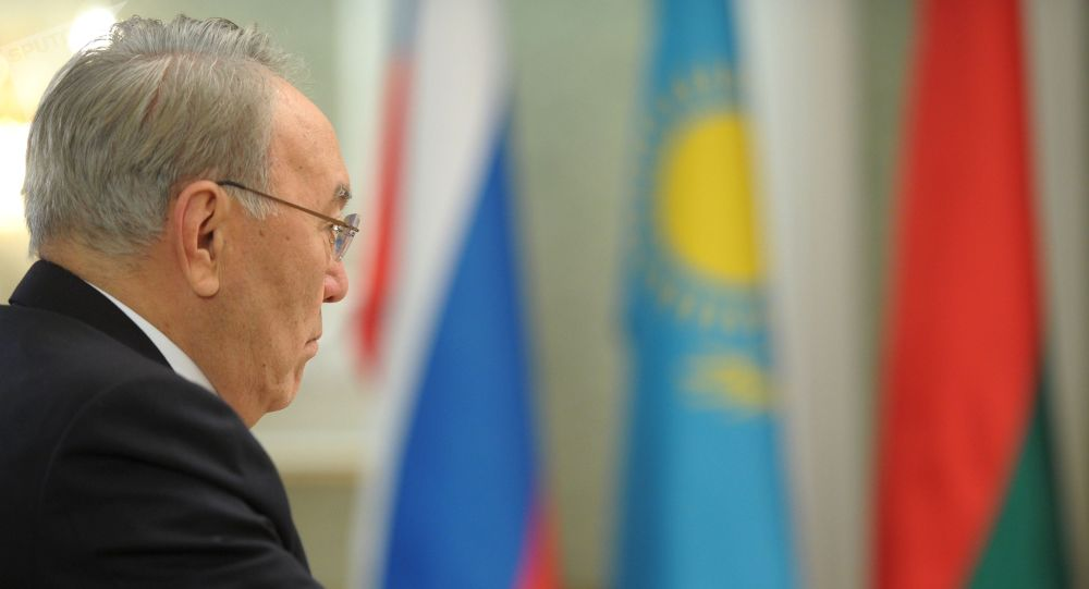 Казакстандын президенти Нурсултан Назарбаев. Архивдик сүрөтү