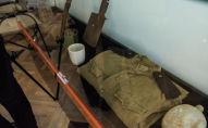 Экспонаты музея истории блокады Ленинграда в Бишкеке