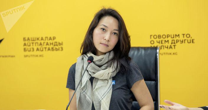 Программист Айнура Сагын кызы