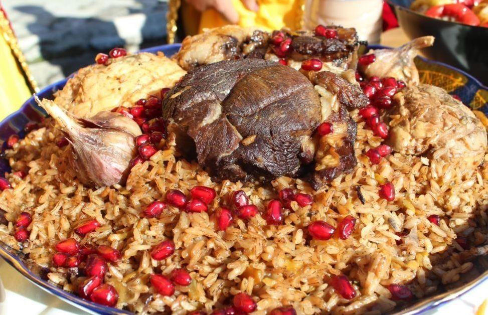 Плов из узгенского риса