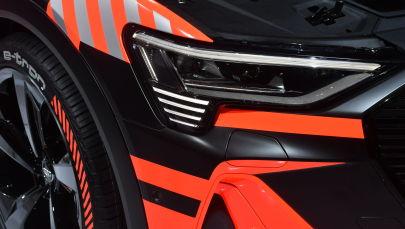 Электрокар Audi e-Tron. Архивное фото