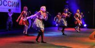 Выступление детей на XIV Международном культурном фестивале Цветы России