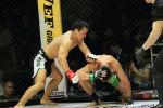 В 1/8 финалаКыргызстанский боец Канат Келдибеков, выступающий под псевдонимом Тайсон одержал победу над Бекмаматом Абдибаит уулу техническим нокаутом.